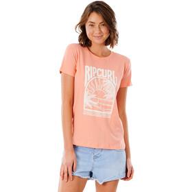 Rip Curl North Shorte Standard Tee Women, naranja